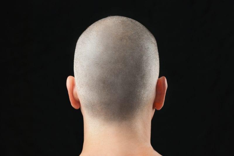 Shaved Head Buzz Cut